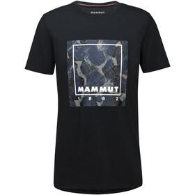 Mammut Graphic Maglietta Uomo, nero